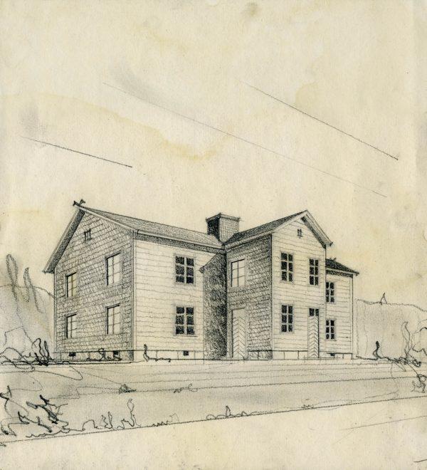 Hattulan Jalintehdas. Kenkätehdas perustettiin vuonna 1902, mutta se tuhoutui tulipalossa vuonna 1905.